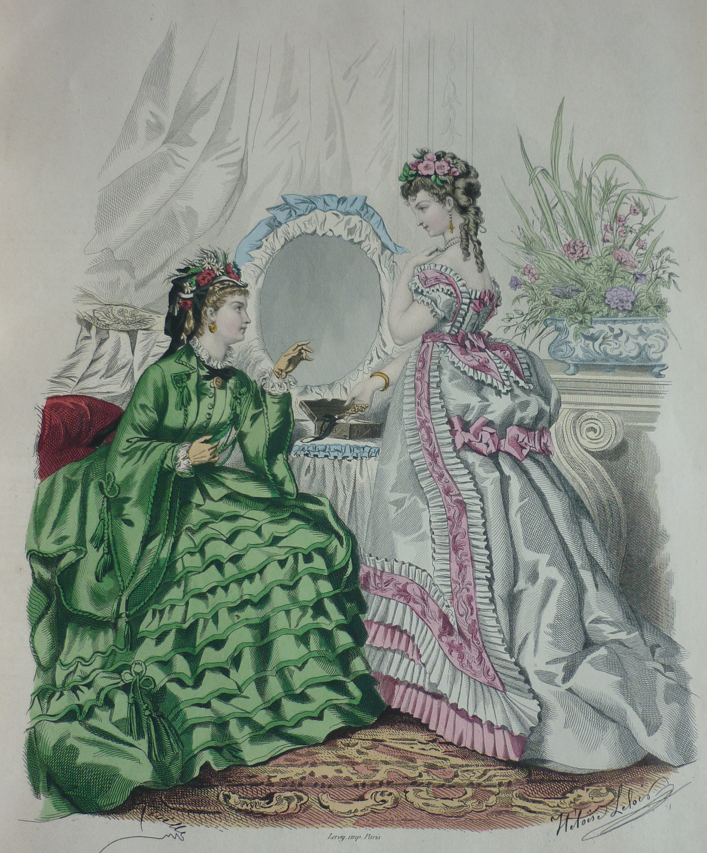 Toilettes La Mode Illustr 233 E 1873