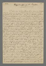Exposé des faits par la veuve Daudet dans l'affaire qui l'oppose à son associé Gonnet.