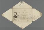 Notes et dessin de conseillers prud'hommes, recueillis par Pierre Charnier.