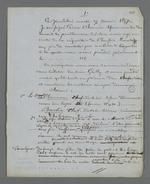 Constat d'expertise rédigé par Pierre Charnier