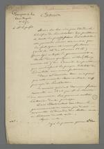 Extraits d'une lettre adressée au préfet du Rhône par le procureur général du parquet de la cour royale de Lyon au sujet de la création d'un Conseil des Prud'hommes en bâtiment.