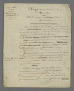 Description détaillée du projet d'un Conseil de Famille ou juridiction arbitrale des menuisiers.