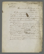 Lettre de Pierre Charnier adressée au président de la république dans laquelle il expose les difficultés rencontrées dans la demande de création d'un Conseil des Prud'hommes en bâtiment, ainsi que l'importance d'un tel projet.