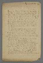 Lettre adressée à Pierre Charnier dans laquelle sont jetées les bases des accords à établir à travers la médiation entre les ouvriers teinturiers et leurs chefs d'ateliers.