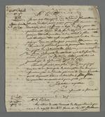 Copie des lettres successives de Pierre Charnier adressées au président du Conseil des Prud'hommes, au sujet de la réforme de l'article sur la prescription mensuelle appliquée au salaire.