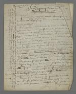 """Notes de Pierre Charnier concernant l'étymologie de l'expression """"piquage d'once"""", ainsi qu'une analyse des actions des sociétés mutuellistes."""