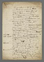 Procès-verbal effectué par Pierre Charnier lors d'une expertise qui lui avait été commandée par le Conseil des Prud'hommes, dans une affaire de piquage d'once.