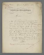 Convocation adressée à Pierre Charnier par le Conseil des Prud'hommes pour effectuer une expertise.