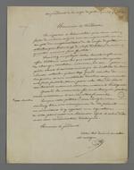 Lettre de Pierre Charnier adressée à Gamot, président de la commission exécutive de la Caisse de prêt aux chefs d'ateliers, concernant la situation économique en crise.