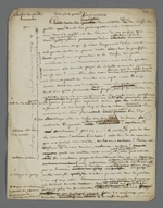 Notes de Pierre Charnier concernant un cauchemar qu'il a fait qui témoigne des ses préoccupations concernant la Caisse de prêt aux chefs d'ateliers, au sujet de la prescription des intérêts.