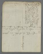 Souche de coupons d'obligations de la Caisse de prêt, remplie par la déclaration sur l'honneur d'André Perrin, chef d'atelier, souscripteur, et Joseph Perrin, boulanger, créancier.