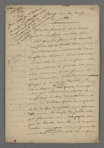 Notes de Pierre Charnier concernant un songe qu'il a fait concernant de la Caisse de prêt.