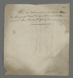 Observations de Pierre Charnier au sujet de De Colmont, délégué de la Chambre de Commerce, avec lequel il s'est entretenu à propos d'une demande de livrets pour la Caisse de secours.