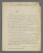 Formulaire, clauses et modèle de déclaration de dépôt d'échantillons de tissus au Conservatoire des Tissus, à l'intention des marchands-fabricants.