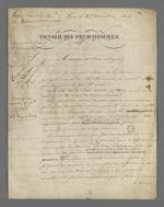 Compte-rendu de l'audience du 24 décembre 1847 du Conseil des Prud'hommes, rédigé par Pierre Charnier.
