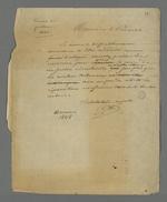 Lettre de Pierre Charnier adressée au président du Conseil des Prud'hommes au sujet du disfonctionnement dudit Conseil.