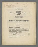 Election des membres du Conseil des Prud'hommes : modalités et décrets.