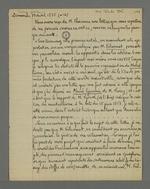 Extraits de la lettre de Pierre Charnier adressée aux rédacteurs de