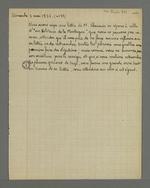 Insert du rédacteur, publié dans le numéro 33 datant du 03 mai 1835