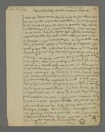 Copie de la lettre de Pierre Charnier adressée au gérant de