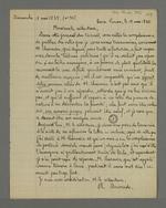 Succession de lettres publiées dans le numéro 35 du 17 mai 1835 de
