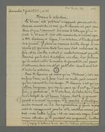 Lettres de Daverède publiées dans le numéro 38 du 07 juin 1835 de