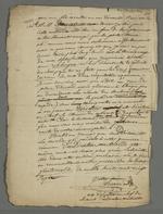 Lettre de Pierre Charnier adressée à Doucet dans laquelle il tente de lui remémorer les premiers temps du mutuellisme de 1827.
