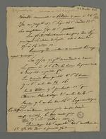 Notes comparatives sur la situation économique et le coût de la vie entre 1786 et 1831