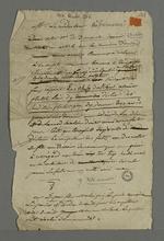 Lettre de Pierre Charnier adressée à Barthélémy, rédacteur du journal le
