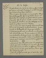 Rapport rédigé par Pierre Charnier, adressé au préfet Dumolart, au matin du24 novembre 1831.