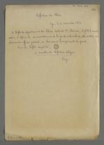 Autorisation délivrée à Pierre Charnier de déférer le commandement de la garde nationale de la seconde section, dont il est le chef, au plus ancien officier présent.