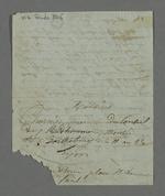 Lettre adressée à Pierre Charnier par Depassio, fabricant et chansonnier, dans laquelle il lui demande de se renseigner sur un apprenti, fils de Gayet, marchand-fabricant, en conflit avec le chef d'atelier chez qui il a été placé.