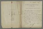 Lettre d'Arquillière, adressée à Pierre Charnier dans laquelle il l'entretient au sujet d'une affaire de piquage d'once.