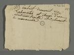 Recommandation de De Clermont, adressée à madame Charnier, au sujet de Imbert, chargé d'une famille nombreuse.