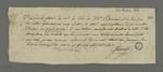 Billet de Falconnet dans lequel il demande des nouvelles de Bernard et Pierre Charnier qui séjournent alors à Paris pour effectuer le rapport sur les événements lyonnais.