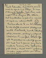 Notes de Fernand Rude concernant Adélaïde de Montgolfier, collaboratrice, entre autres, de la