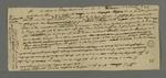 Lettre non signée de l'un des accusés de l'insurrection de 1831 jugé à Riom, en réponse à une demande qu'il avait effectué.