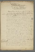 Compte-rendu de l'obtention en novembre 1831, de l'autographe du général Lafayette à Pierre Charnier, délégué ouvrier.