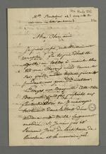 Lettre de Pierre Charnier adressée à son épouse pour la prévenir de son retour de Paris où il avait séjourné plus d'un mois, pour enfin parvenir à transmettre au conseil des ministres les revendications des ouvriers de Lyon.