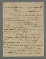 Réponse du docteur Bowring à la proposition de Pierre Charnier concernant la mise en place de souscriptions pour les blessés de novembre 1831.