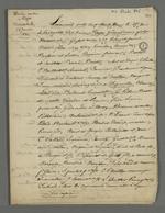 Citation du préfet Bouvier-Dumolart, dans le cadre du procès qui lui est intenté pour son rôle dans le déclenchement des événements de novembre 1831.