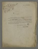 Communication d'Etienne Gauthier pour informer de la liquidation de son commerce, suivie de la présentation de l'établissement de son neveu au Havre.