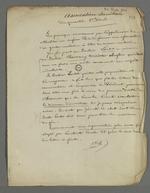Notes de Pierre Charnier sur l'origine de la création d'une association sanitaire, dont le docteur Lortet s'est déclaré président provisoire, omettant que l'initaitive en revenait à Pierre Charnier.