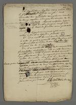 Procès-verbal rédigé par le Solitaire du Ravin, issu de la réunion de la troisième centrale à laquelle seul l'initiateur s'est rendu et a par conséquent dû prendre part au vote et se nommer secrétaire et scrutateur.