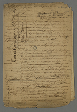 Correspondance entre Pierre Charnier et Théodore de Seynes au sujet de Léon Favre et de son invention d'un système de production de la soie qui supprimerait la fonction des marchands-fabricants.