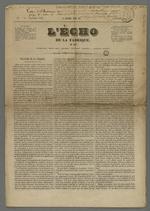 Exemplaire du numéro 49 du 15 septembre 1843, de