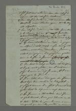 Notes concernant une affaire de non-règlement de cotisation, mettant en cause Berthaud.