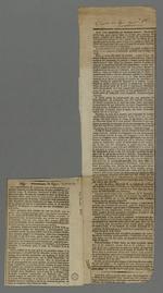 Rubrique nécrologique au sujet du décès d'Alexandre Mondesert, combattant pendant le siège de Lyon de 1793,