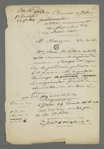 """Notes concernant les responsables de l'atelier communauté Providence Jésus-Marie de Fourvière ainsi que la """"petite audience"""" à laquelle Pierre Charnier a assisté."""