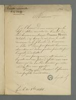 Lettre d'Arquillière adressée à Pierre Charnier dans laquelle il le convoque à une réunion des marchands-fabricants membres du Conseil des Prud'hommes pendant laquelle seront exposées les observations relatives aux questions posées par l'enquête industrielle.